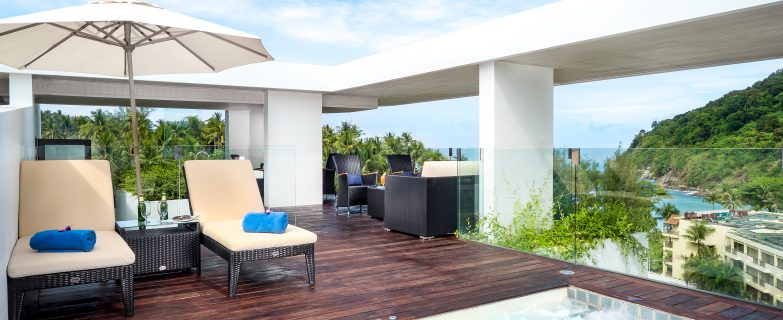 One bedroom Suite with Sea Views and Private Pool