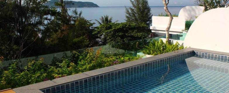 Ocean View Luxury 3 Bedroom Suite with Private Pool & Games Room NK406